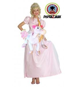 Disfraz de Princesa Rosa Unicornio
