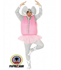 Disfraz de Elefantita bailarina