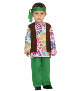 Disfraz de Hippie Bebe