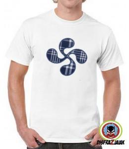 Camiseta Lauburu hombre