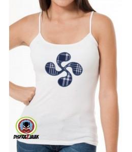Camiseta Lauburu Tirante Estrecho