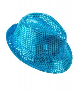 Gorro Lentejuelas Azul