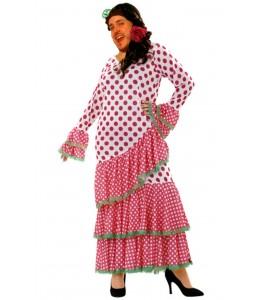 Disfraz de Sevillana Rosa Hombre