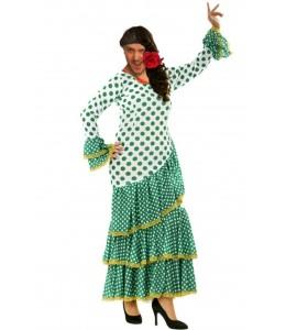 Disfraz de Sevillana Verde Hombre