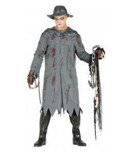 Disfraz de Asesino con Chubasquero
