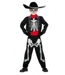 Disfraz de Mariachi Skeleton Infantil