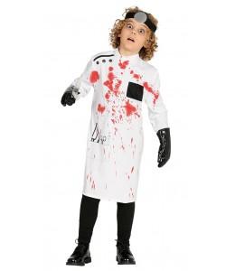 Disfraz de Doctor Sangriento Infantil