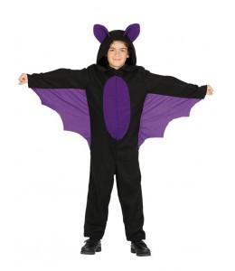 Disfraz de Murcielago Morado Infantil