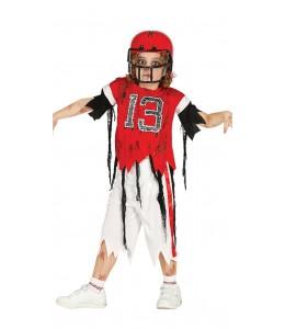 Disfraz de Quarterback Zombie Infantil