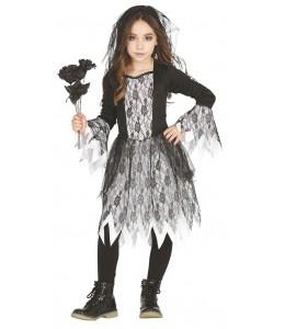 Disfraz de Novia Cadaver Infantil