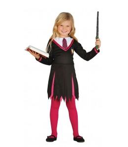 Disfraz de Estudiante Maga Infantil