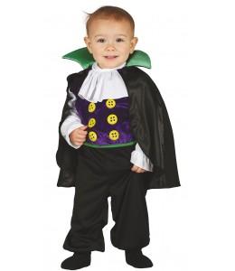 Disfraz de Vampiro Morado Bebe