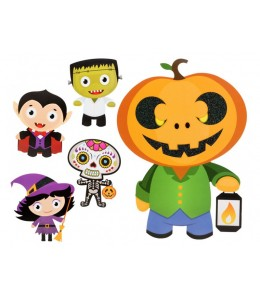 Decoracion Muñecos Halloween