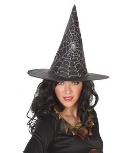 Sombrero de Bruja con telaraña