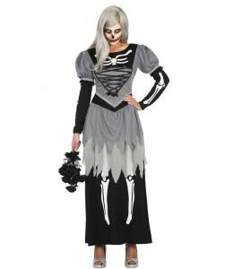 Disfraz de Esqueleto Girs Vestido