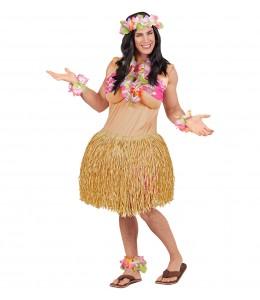 Disfraz de Hawaiana Gorda