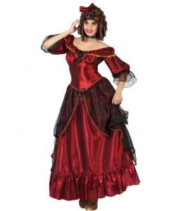 Disfraz de Dama Sureña Roja