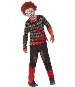 Disfraz de Payaso Zombie Infantil