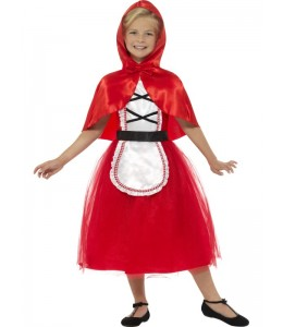 Disfraz de Caperucita Roja Tul Infantil
