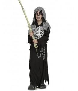 Disfraz de Esqueleto Ejecutor Infantil