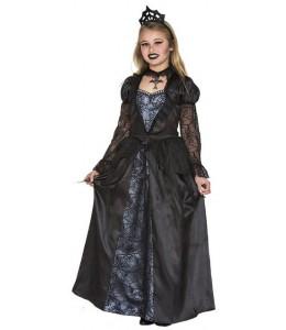 Disfraz de Vampiresa Negra Infantil
