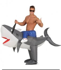 Disfraz de Tiburon Hinchable