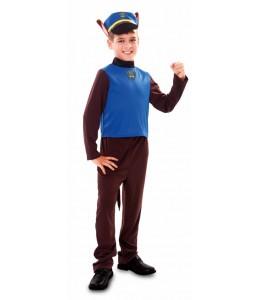 Disfraz de Perro Policia Infantil