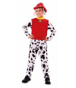 Disfraz de Perro Bombero Infantil