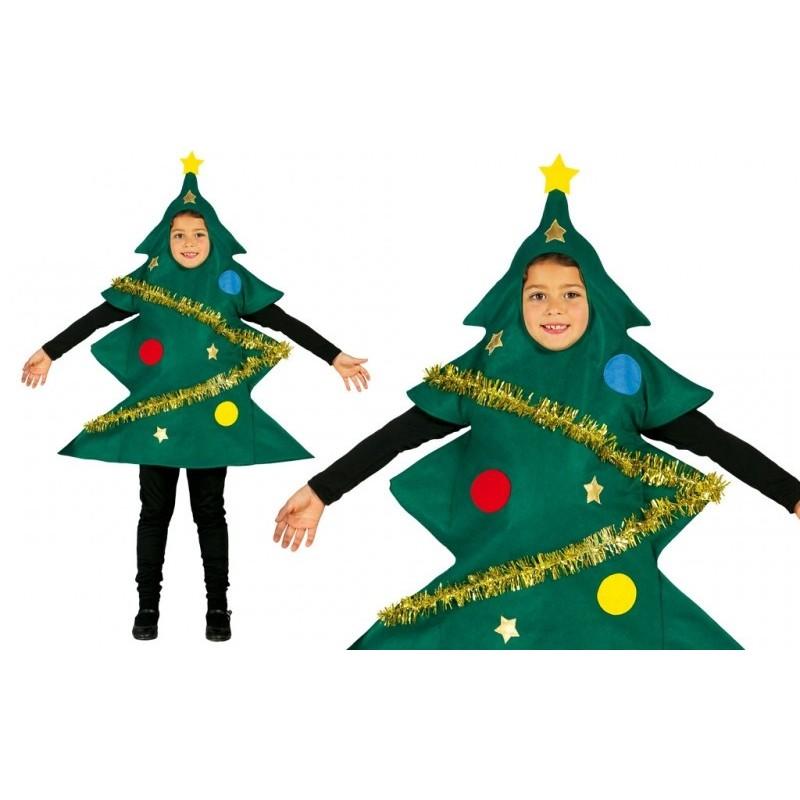 Disfraz de arbol de navidad infantil - Disfraces para navidad ...