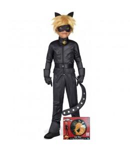 Disfraz de Cat Noir Infantil en Caja