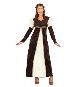 Dama Medieval Marron