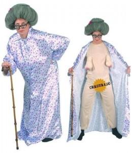 Costume De Grand-Mère Excitée