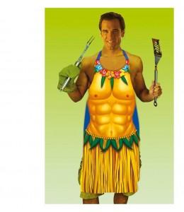 Delantal Hawaiano Hombre