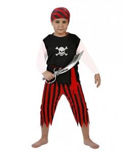 Disfraz de Pirata Rayas Infantil