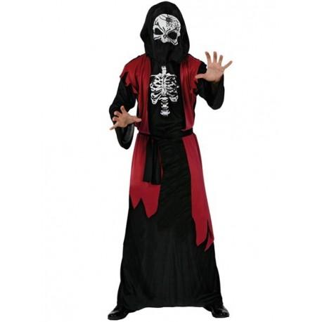 Disfraz de Tunica con Esqueleto