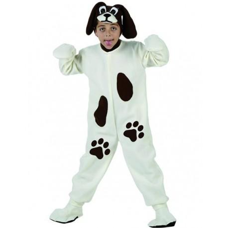Disfraz de Perro Blanco Infantil