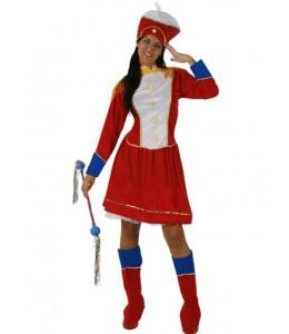 Disfraz de Majorete Roja