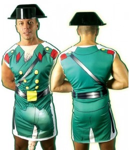 Disfraz de Guardia Civil Pichote