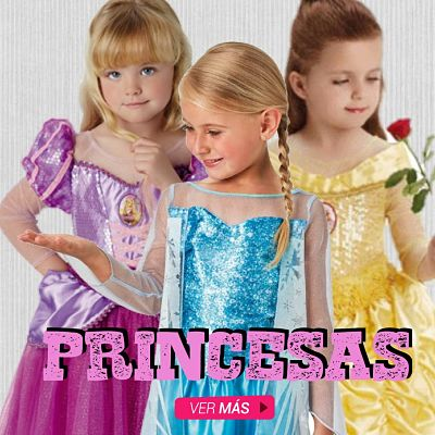 Disfraces de princesas Disney