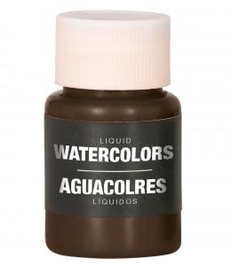 Maquillaje Azul Oscuro al Agua Liquido