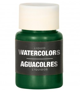 Maquillaje Azul Verde Claro Liquido