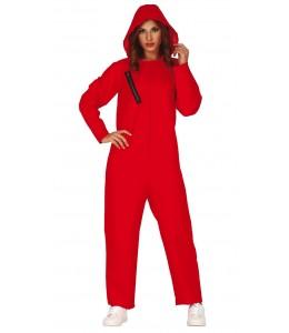 Disfraz de Convicta con Capucha Roja