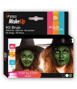 Maquillaje de Bruja 3 Colores