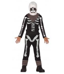 Disfraz de Esqueleto Gamer Infantil