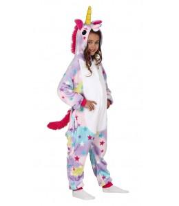 Disfraz de Unicornio Peluche Estrellas Infantil