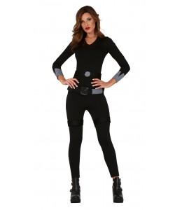 Disfraz de Superheroina Negra