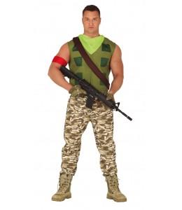 Disfraz de Mercenario Gamer