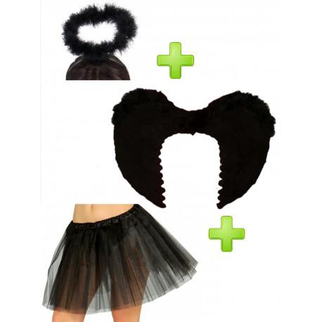 Angelcare Dress Up Papelera para pa/ñales efecto lacado negro Talla:Noir