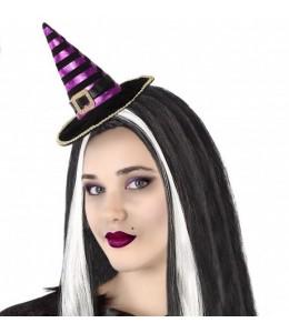 Sombrero de Bruja Mini Morado