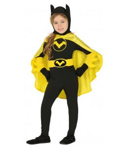 Disfraz Superheroina Murcielago Infantil